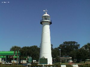The lighthouse.