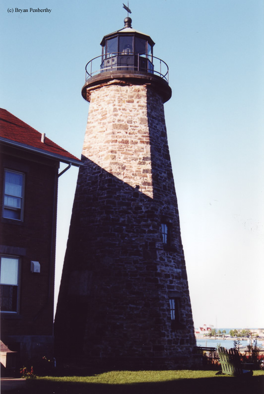 Photo of the Charlotte - Genesee Lighthouse.