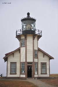 Front view of the lighthouse.