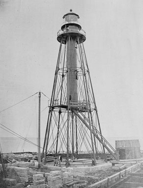 1859 Chicago Pierhead Lighthouse