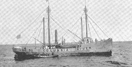 Columbia Lightship Wlv 604 Astoria Oregon