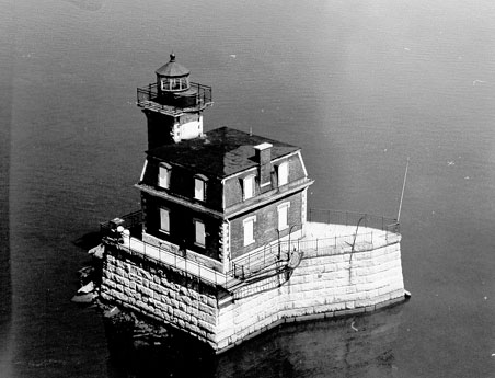 U.S. Coast Guard Archive Photo of the Hudson City Lighthouse