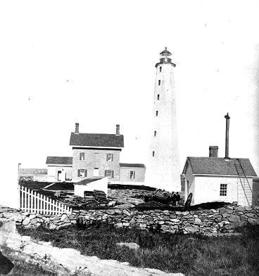 U.S. Coast Guard Archive Photo of New London Harbor Lighthouse