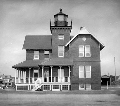 U.S. Coast Guard Archive Photo of the Sea Girt Lighthouse