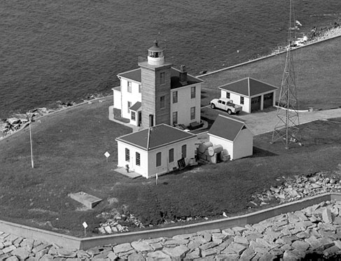 U.S. Coast Guard Archive Photo of the Watch Hill Lighthouse