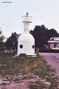 South Buffalo North Pierhead bottle light.