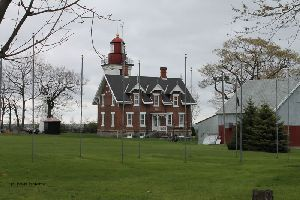 The lighthouse from the gate.