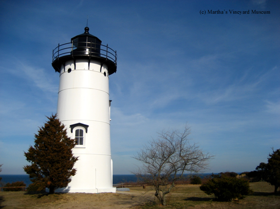 Photo of the East Chop Lighthouse.