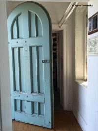 Front door leading into Fort Niagara Lighthouse