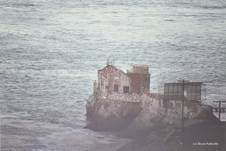 Photo of the Lime Point Lighthouse.