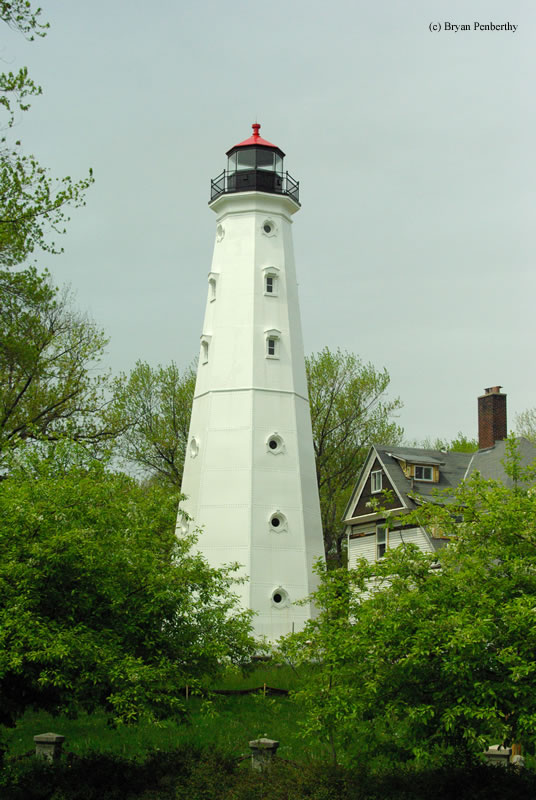 Photo of the North Point Lighthouse.
