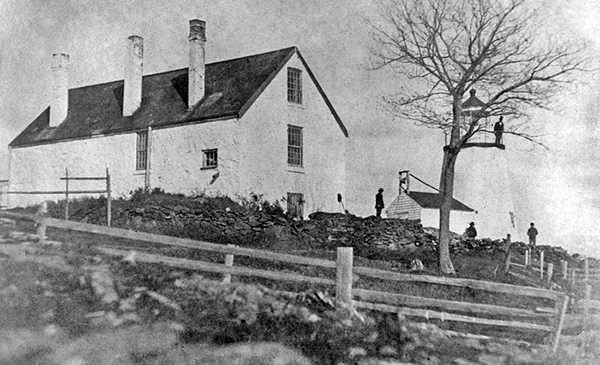 National Archives Photo of Curtis Island Lighthouse
