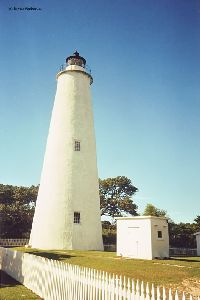 Nice shot of the Ocracoke Island Lighthouse.