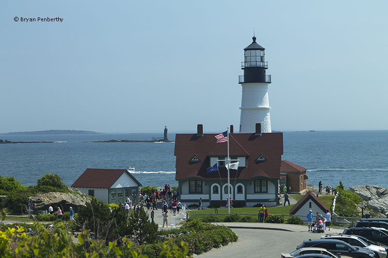 Photo of the Portland Head Lighthouse.