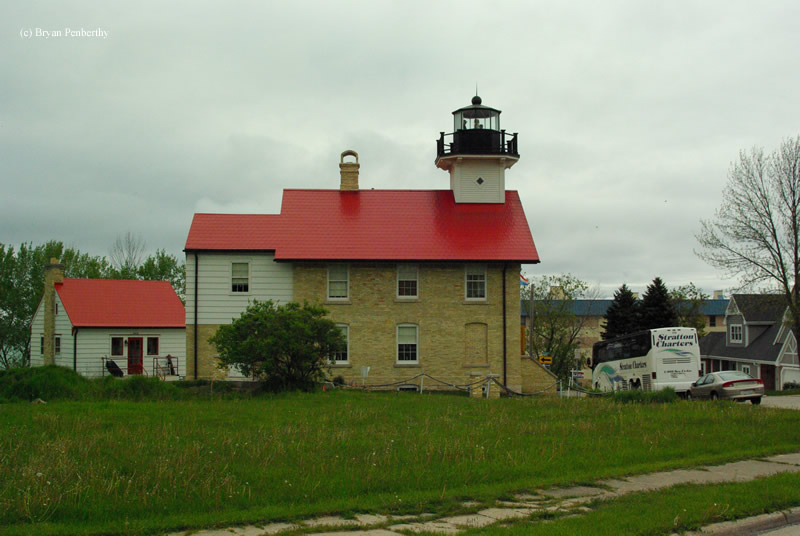 Photo of the Port Washington Lighthouse.