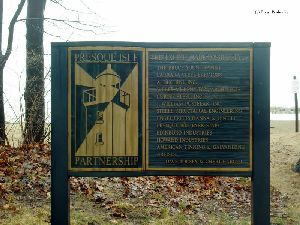 Presque Isle Partnership sign.