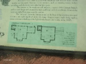 """Original Floorplans"" sign."