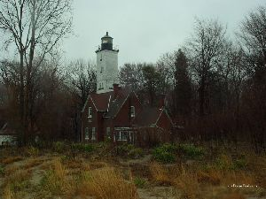 The light station.