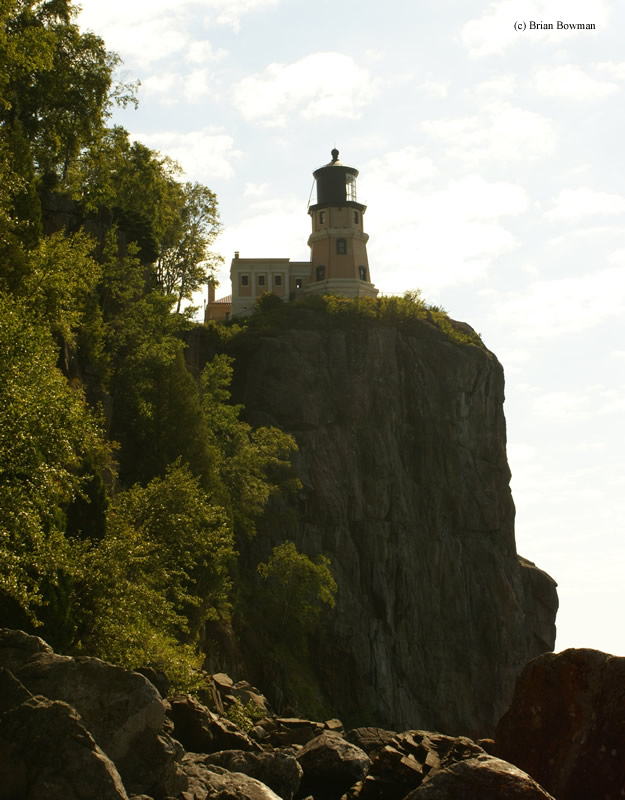 Photo of the Split Rock Lighthouse.